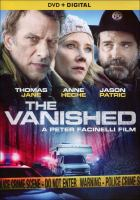 Cover image for The vanished