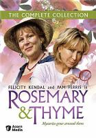 Cover image for Rosemary & Thyme. Series one