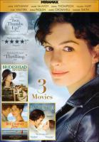 Cover image for Becoming Jane ; and, Brideshead revisited ; and, Jane Eyre