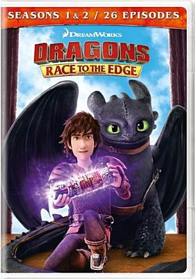 Cover image for Dragons. Race to the edge. Seasons 1 & 2