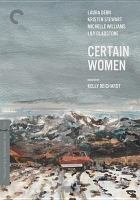 Cover image for Certain women