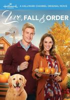 Cover image for Love, fall & order