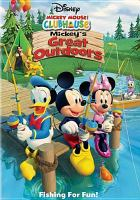 Cover image for Mickey Mouse clubhouse. Mickey's great outdoors.