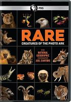 Cover image for Rare : creatures of the photo ark
