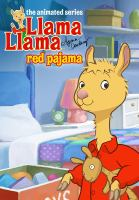 Cover image for Llama Llama red pajama.