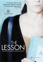 Cover image for The lesson