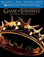 Cover image for Game of thrones. The complete second season