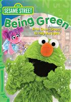 Cover image for Sesame Street. Being green
