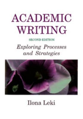 Cover image for Academic writing : exploring processes and strategies