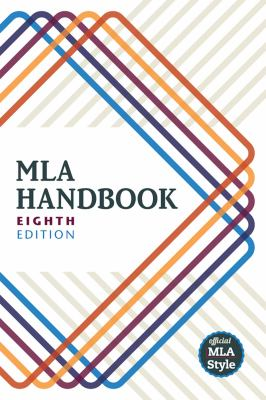 Cover image for MLA handbook.