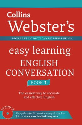 Cover image for Collins Webster's easy learning English conversation