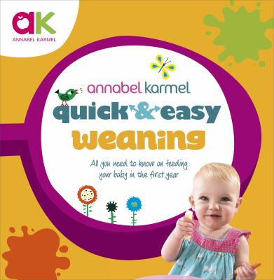 Cover image for Quick and easy weaning