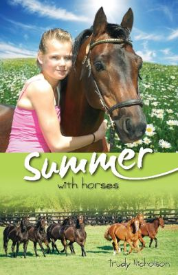 Cover image for Summer with horses