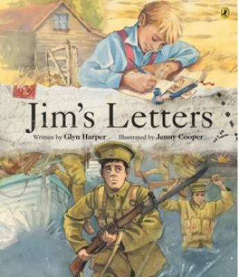Cover image for Jim's letters