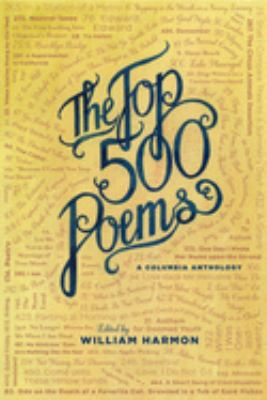 Cover image for The top 500 poems