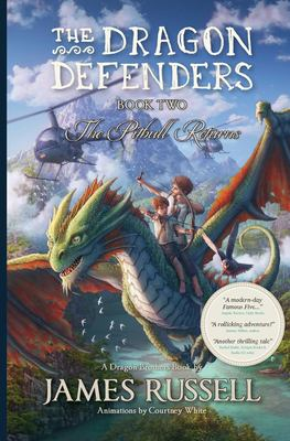 Cover image for The Pitbull returns : a Dragon Brothers book