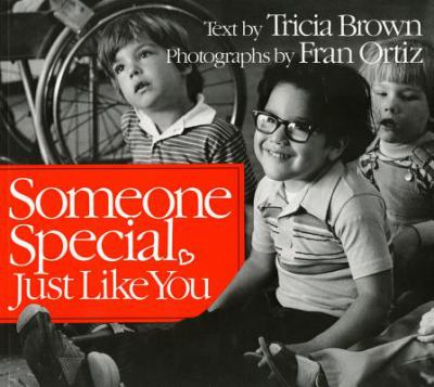 Cover image for Someone special, just like you