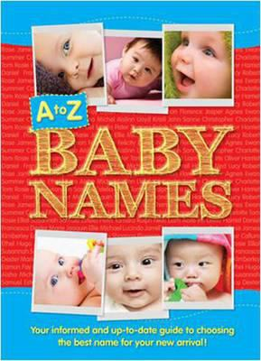 Cover image for A to Z baby names.