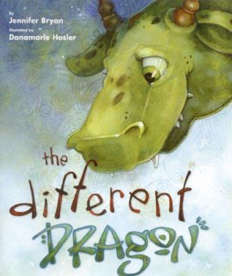Cover image for The different dragon