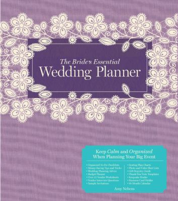 Cover image for The bride's essential wedding planner