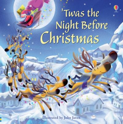 Cover image for 'Twas the night before Christmas