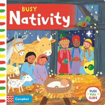 Cover image for Busy nativity