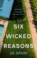 Cover image for Six wicked reasons