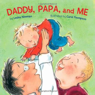 Cover image for Daddy, Papa, and me