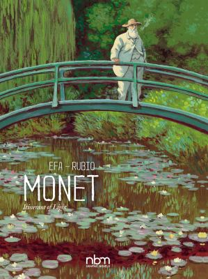 Cover image for Monet : itinerant of light