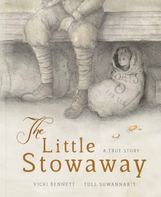 Cover image for The little stowaway : a true story