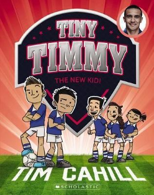 Cover image for Tiny Timmy the new kid