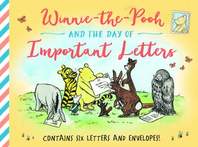 Cover image for Winnie-the-Pooh and the day of important letters.