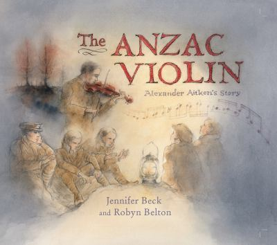 Cover image for The Anzac violin : Alexander Aitken's story