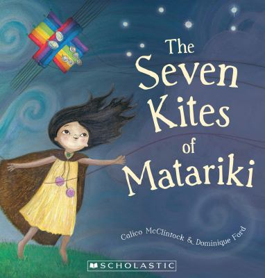 Cover image for The seven kites of Matariki