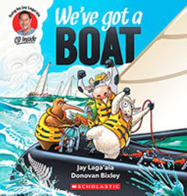 Cover image for We've got a boat [kit (book and CD)]