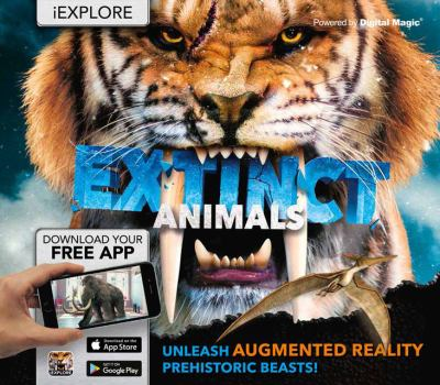 Cover image for Extinct animals