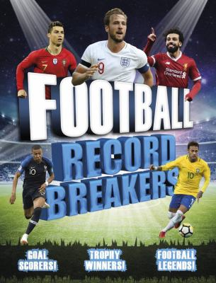 Cover image for Football Record Breakers