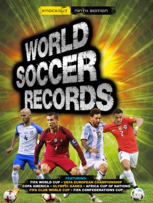Cover image for World soccer records