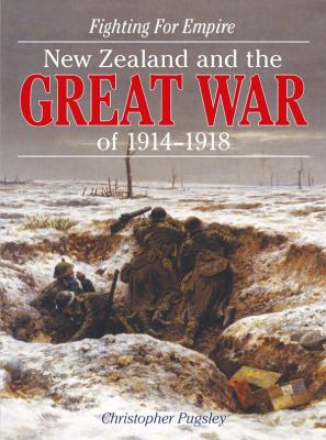 Cover image for Fighting for empire : New Zealand and the Great War of 1914-1918