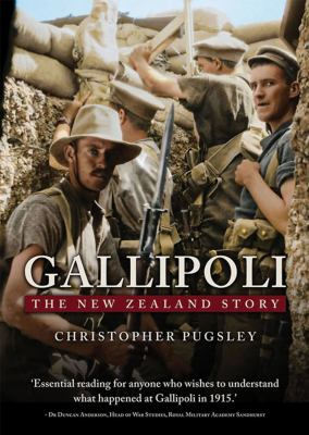 Cover image for Gallipoli : the New Zealand story