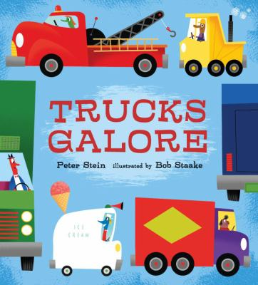 Cover image for Trucks galore