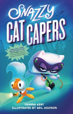 Cover image for Snazzy cat capers