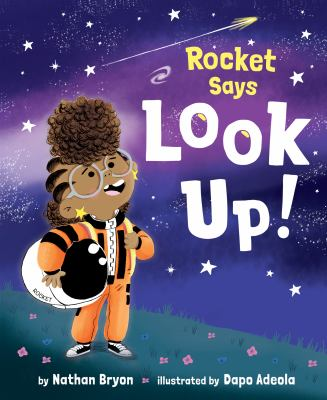 Cover image for Rocket says look up!