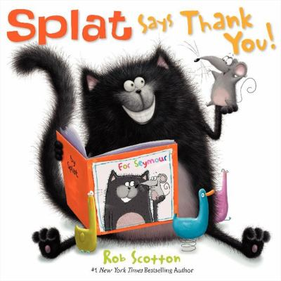 Cover image for Splat says thank you