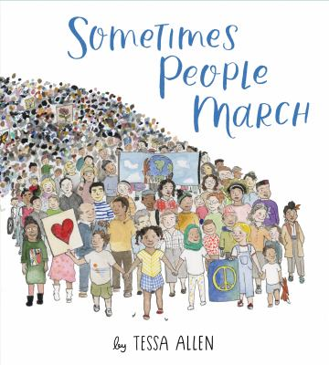 Cover image for Sometimes people march