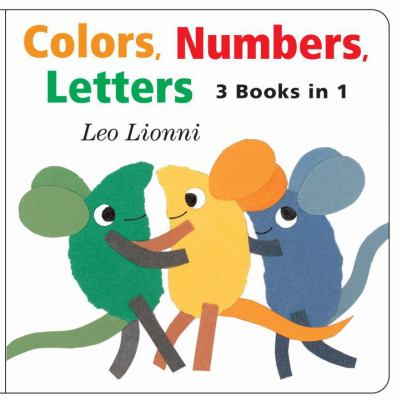 Cover image for Colors, numbers, letters : [3 books in 1]