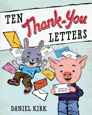 Cover image for Ten thank-you letters