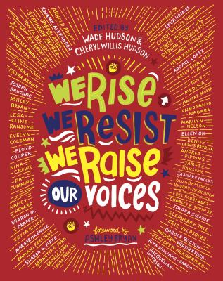 Cover image for We rise, we resist, we raise our voices