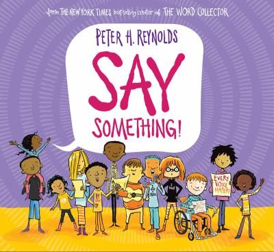 Cover image for Say something!
