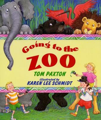 Cover image for Going to the zoo